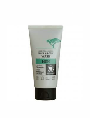 Urtekram hair body for men aloe vera baobab