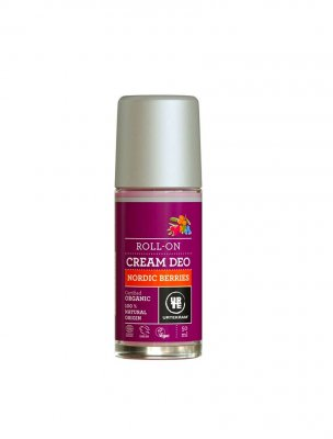 Ekologisk cream deodorant Nordic Berries - Urtekram, 50 ml