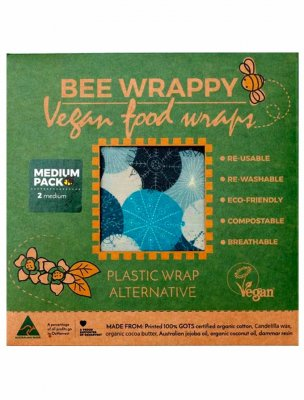 Bee wrappy vegan naturlig folie