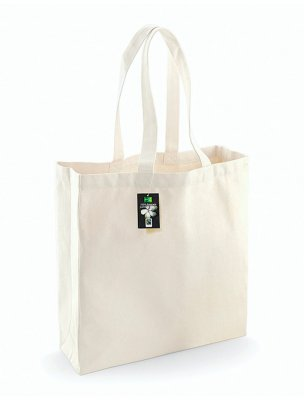 Shoppingkasse / tote Fairtrade certifierad bomullscanvas