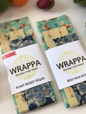Wrappa food wraps naturlig folie