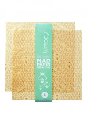 Wrappy bivaxfolie food wrap beewax