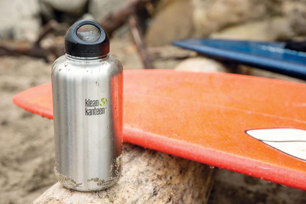 Vattenflaska rostfritt stål