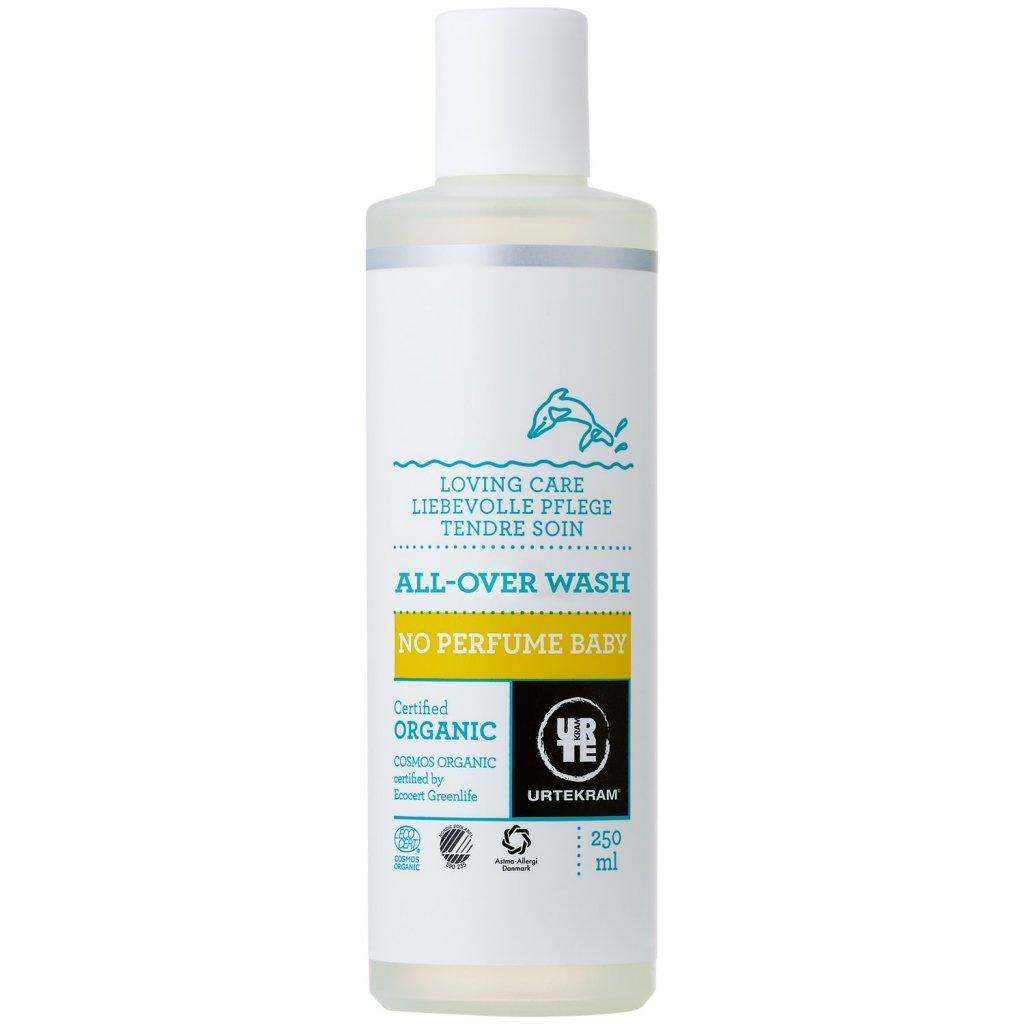 Ekologisk All-over-baby-wash, parfymfri, 250 ml